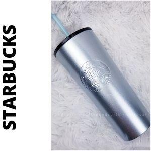 Starbucks silver glitter 2018 holiday tumbler 16oz